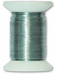 Chapuis VFCA3 Alambre metálico de acero galvanizado - Diámetro 0,3 mm - Largo 50 m