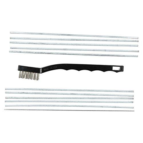 Lumiweld Aluminium Schweißen und Hartlöten Löten Risssanierung 10 Rod Kit (Aluminium Löten Kit)