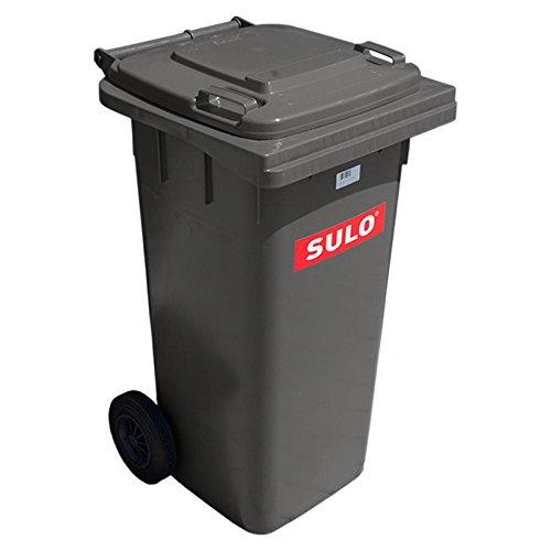 SULO Müllbehälter 120 Liter grau