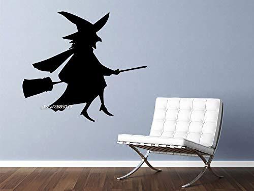 em Besen Wandaufkleber Vinyl Wandtattoo Grafiken Schlafzimmer Wohnzimmer Wohnkultur Tapete Künstlerische Design Poster 56 * 64 cm ()