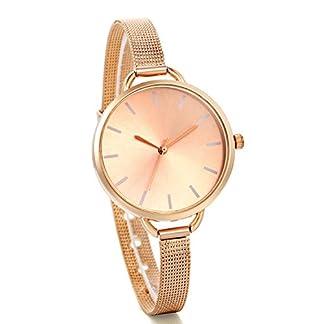 JewelryWe-Elegante-Analog-Quartzwerk-Damen-Armbanduhr-mit-Edelstahl-Mesh-Band-Uhr-Legierung-Rosegold-Silber