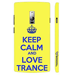 One Plus Two LOVE TRANCE 2 designer mobile hard shell case by Enthopia