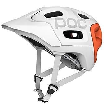 POC Radhelm Trabec Race Uni, White/Orange, XS (51-54 cm), 10500