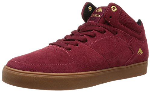 Emerica Hsu G6 Black/White BURGUNDY/GUM