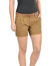 DESIRES Jacy Damen Chino-Shorts kurze Hose aus 100% Baumwolle