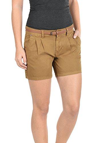 Twill-hose Kurz (DESIRES Jacy Damen Chino-Shorts kurze Hose aus 100% Baumwolle, Größe:36, Farbe:Cinnamon (5056))