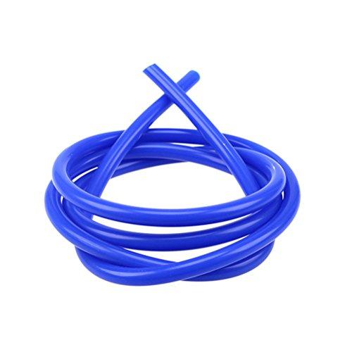 2 Metros Manguera de Silicona Azul Tubo de VACío Manguera de vacío tubo gasolina moto Línea de ventilación de combustible del carburador de tubo amarillo para Coche universal