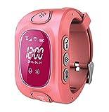 VIDIMENSIO GPS Telefon Uhr 'Kleiner Drache V2 - pink (Wifi)', OHNE Abhörfunktion, für Kinder, SOS + Telefonfunktion + GPS+WIFI+LBS Ortung, App + Bedienungsanleitung + Support auf deutsch