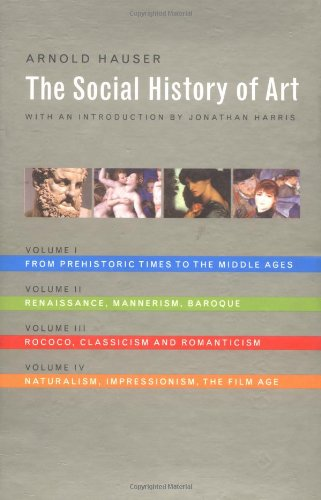 Social History of Art, Boxed Set: Vol. 1 por Arnold Hauser