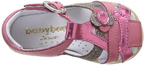 Babybotte Glitter, Sandales Bébé Fille Rose (Framboise/Glitter)