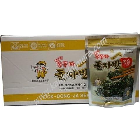 Coreano ballo tradizionale Doji laver Jaban nori (alga bollito) 1 scatola (sacchetti 70gX20)