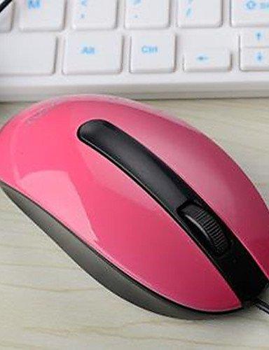 HoudelongTM a8 kabelgebundenen Maus Maus Laptop Desktop-Maus-Spiel , - Kostüm Red Minnie