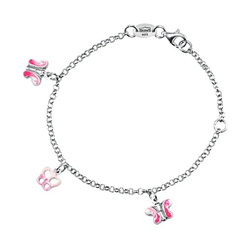 SCOUT Kinder-Armband 925 Silber rhodiniert 17 cm - 260234100