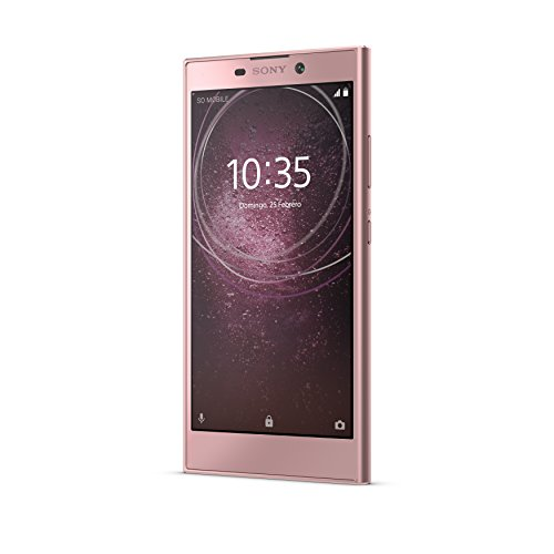 "Sony Xperia L2 - Smartphone de 5.2"" (Octa Core 1.45 GHz, RAM de 3 GB, Memoria Interna de 32 GB, cámara de 13 MP, Android), Color Rosa"
