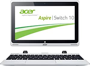 Acer Aspire Switch 10 Intel® 1330 MHz 64 GB 2048 MB Flash Hard Drive HD GPU