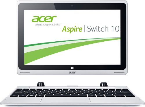 Acer Aspire Switch 10 SW5-011 25,7 cm (10,1 Zoll) Convertible Laptop (Intel Atom Z3745, 1,3GHz, 2GB RAM, 64GB eMMC, Intel HD Grafik, Win 8.1) grau (Acer Aspire Switch 10)
