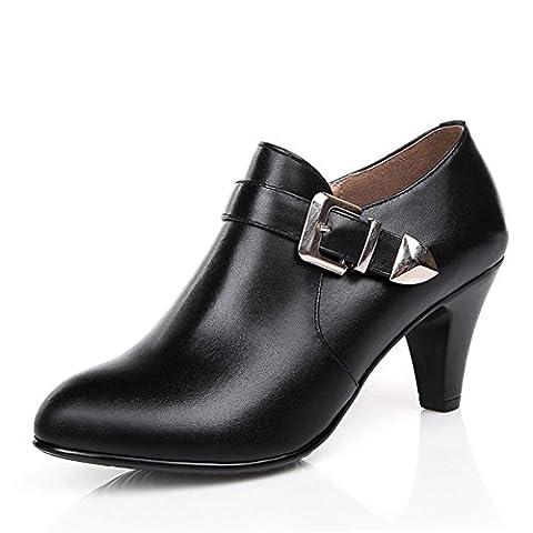 Au printemps et en automne bottes Lady/Chaussures à talons hauts/chaussures mères d