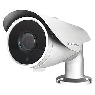 Atlantis Land AHD-820BV CCTV Security Camera Indoor and Outdoor Bullet White 1920 x 1080pixels – CCTV Security Camera, Indoor and Outdoor, English, French, Italian, Bullet, White, Ceiling/Desktop)