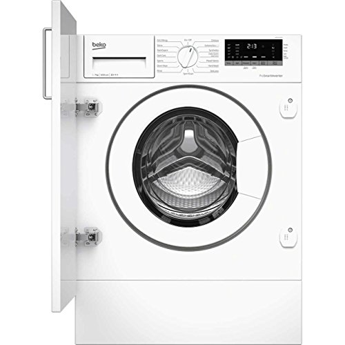 Beko WIR76540F1 Built-In A+++ Rated Washing Machine in White
