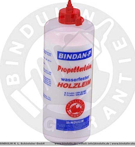 Holzleim wasserfest, Bindan Propeller Leim 1.000 gr