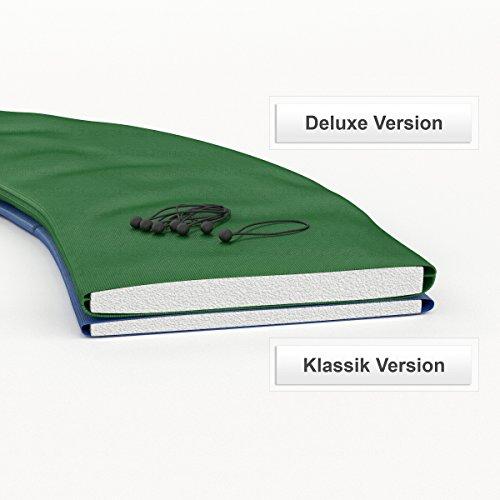 Ampel 24 Trampolin Randabdeckung Deluxe | max. Schutz durch doppelte Dicke | passend für Ø 180 – 185 cm | reißfest | 100% UV-beständig | grün - 2