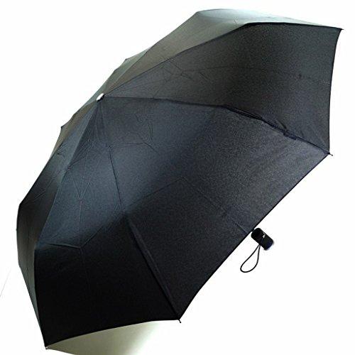 Flash Super Mini Light Schwarz 72199 mit LED-Leuchte Regenschirm Taschenschirm Taschen Schirm