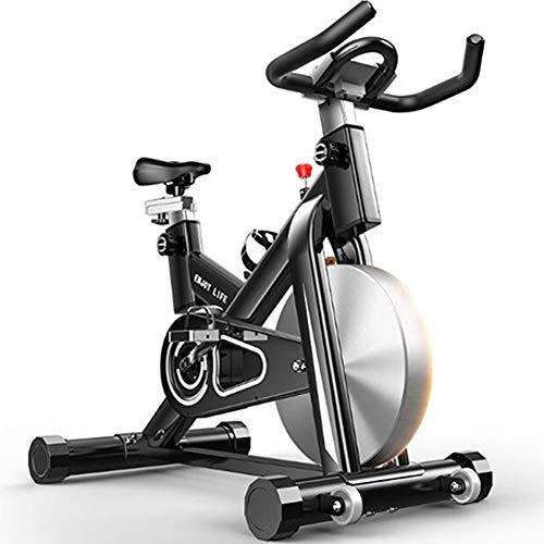 KuaiKeSport Bicicleta Spinning Profesional,Indoor Cycling Electromagnético Aplicación...