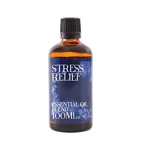 Mystic Moments | Stress Relief ätherisches Öl Blend – 100 ml – 100% Pure (Bergamotte Ätherische Mischung)