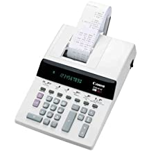 Canon P29-D IV - Calculadora de escritorio y impresión, C, Botones, 8 x 3,5 mm, 90 x 20 mm), color blanco