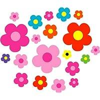Aurum92 Multi Coloured Daisy Stickers