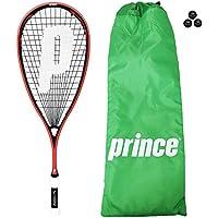 Prince Pro Airstick Lite 550Raquette de squash + Housse + 3Dunlop Balles de squash