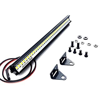 ARUNDEL SERVICES EU RC Crawler LED-Lichtleiste Lichter Fahren für 1/10 Axial SCX10 II 90046 90047 Traxxas TRX4 Rock Crawler Zubehör 4 x 4 Modelle