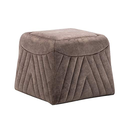 YQS Mode Einfache Moderne Osmanische Hocker Holzstuhl
