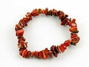 Bracelet Chip Coral 7.5 Inch Elasticated