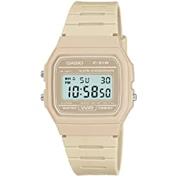 Casio Men's Quartz Watch with Digital Display and Resin Strap