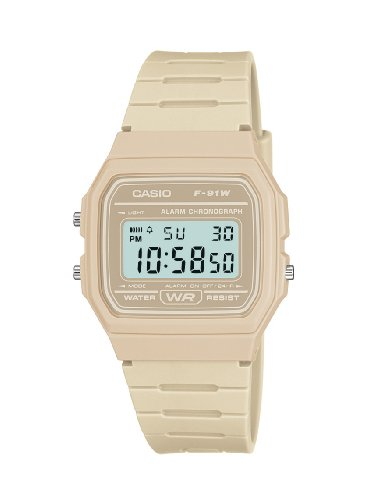 - 41XqTUjGQEL - Casio Men's Digital Watch with Resin Strap – F-91WC