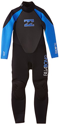 Billabong Junior Intruder 3/2Mm Wetsuit In Black/Blue S43B04 Age / Size - 14 Years