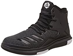 adidas Mens D Rose Lakeshore Ultra Utiblk, Cblack and Ftwwht Basketball Shoes - 8 UK/India (42 EU)