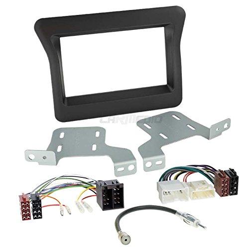 Renault Master 3 10-14 2-DIN Autoradio Einbauset in original Plug&Play Qualität mit...