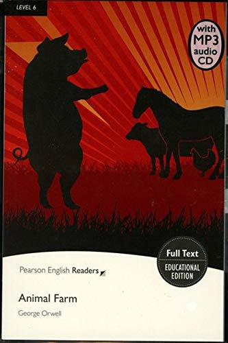 Level 6: Animal Farm Book & MP3 Pack (Pearson English Graded Readers)