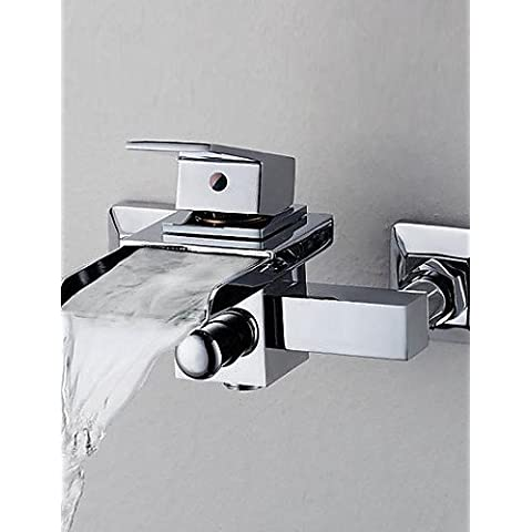 LINA@ contemporanea vasca rubinetto cascata - montaggio