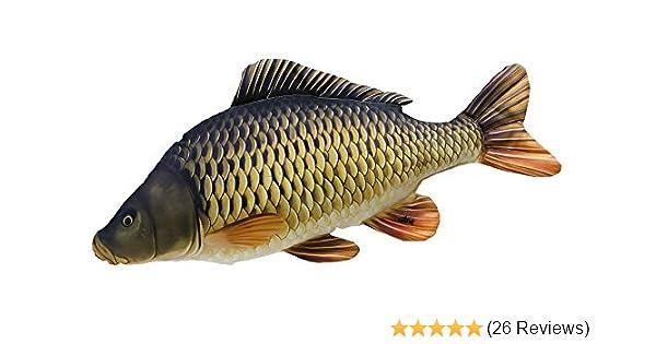Kuschelfisch Koi Karpfen 60cm Fish Pillow Kuscheltier Stofftier Geschenkidee