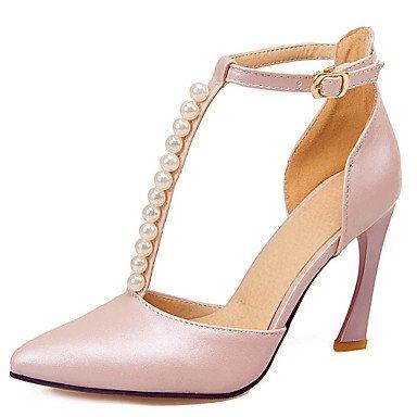 Zormey Women'S Shoes Stiletto Heel/D'Orsay Zweiteilige/Schuhe Heels Imitation Pearl Hochzeit Schuhe/Partei/Kleid Blau/Rosa US7.5 / EU38 / UK5.5 / CN38