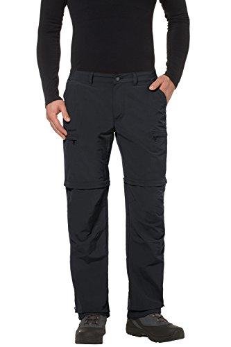 Vaude Herren Trekkinghose Farley ZO IV, black, 56/L, 3869 (Reise-hose Leichte)
