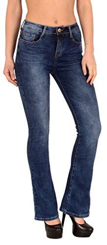 Damen High-cut (Damen Bootcut Jeans High Waist Jeanshose Damen Bootcut Jeanshose Damen High Waist Jeans J287)