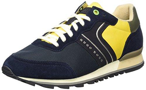 Bleu Scuro Parkour Sneakers 406 Bassi blu nymx Boss 01 10191435 Homme Verde runn zqHPH