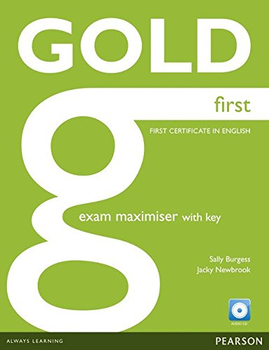 Gold First Maximiser with Key and Audio CD Pack por Jacky Newbrook