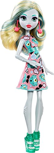 Monster High Mattel DVH20 - Emoji Lagoona Puppe, Ankleidepuppen-Zubehör (Monster High Lagoona)