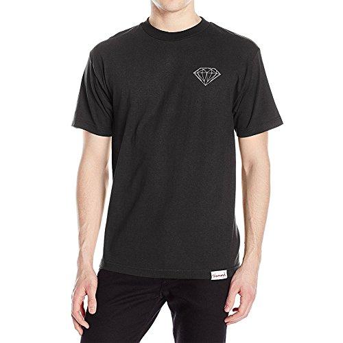 Diamond Supply Co. Men's Brilliant T Shirt Black XL (Black Skate Diamond)
