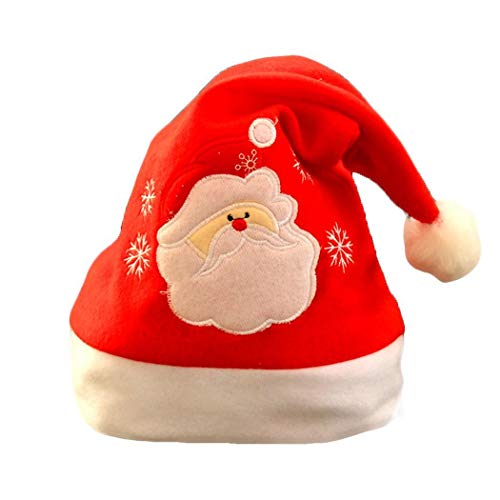 Erwachsene Kinder niedliche Weihnachtskostüm Weihnachtsdekoration Santa Hat Classic Hat (3)